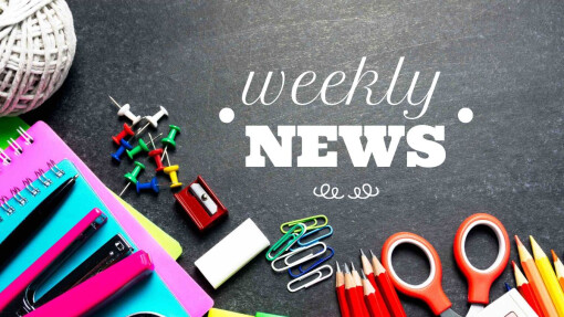 Weekly Announcements August 29